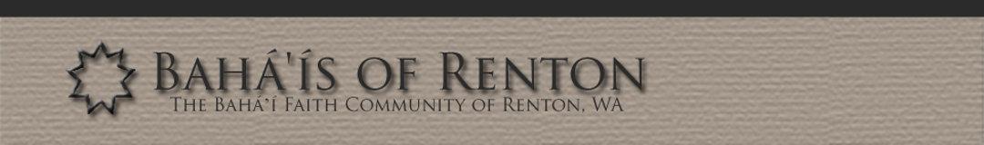 Bahá'ís of Renton